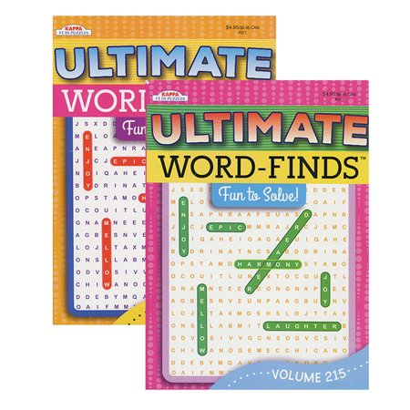 New 401830  Kappa Ultimate Word Finds Puzzle Book (48-Pack) School Supplies Cheap Wholesale Discount Bulk Stationery School Supplies New Arrivals. - Discount School