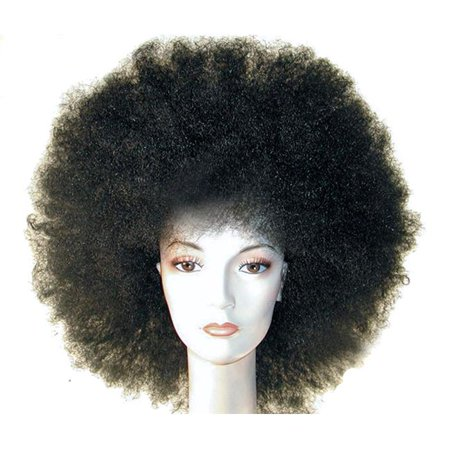 Morris Costumes LW23MBN Afro Discount Jumbo Medium Brown Wig Costume - image 1 de 1