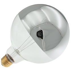 120v 100w Lamp - Replacement for LIGHT BULB / LAMP 100W 120V GLOBE MED. SILVER BULB replacement light bulb lamp