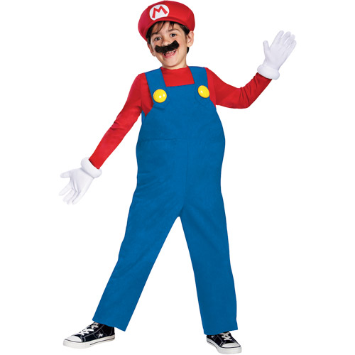 Super Mario Brothers Mario Deluxe Child Halloween Costume