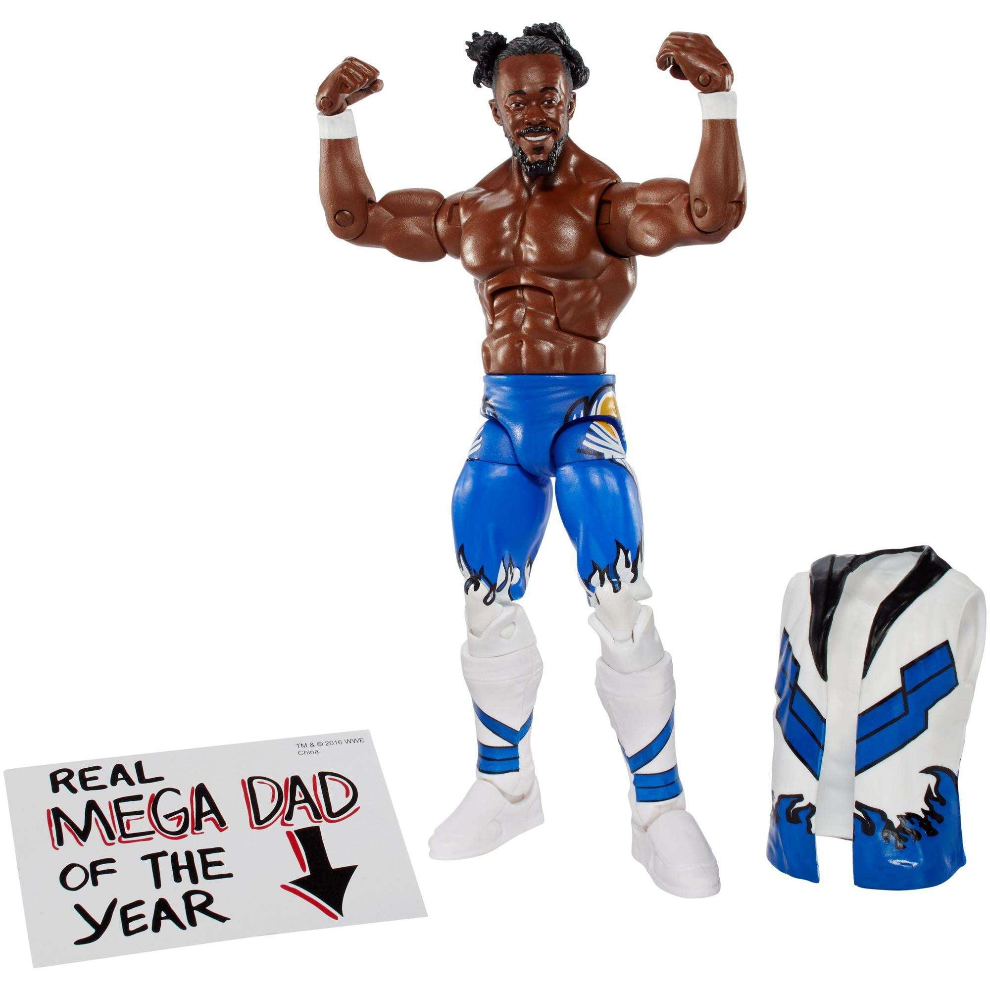 WWE Elite Kofi Kingston Action Figure by Mattel
