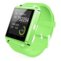 Amazingforless (S47) Premium Green Bluetooth Smart Wrist Watch Phone mate for Android Samsung HTC LG Touch Screen with Camera