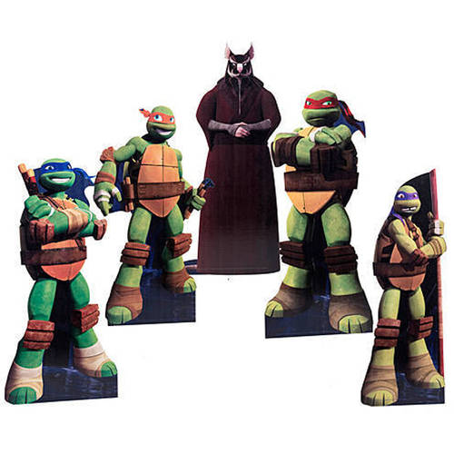 Teenage Mutant Ninja Turtles Small Group Standee Set