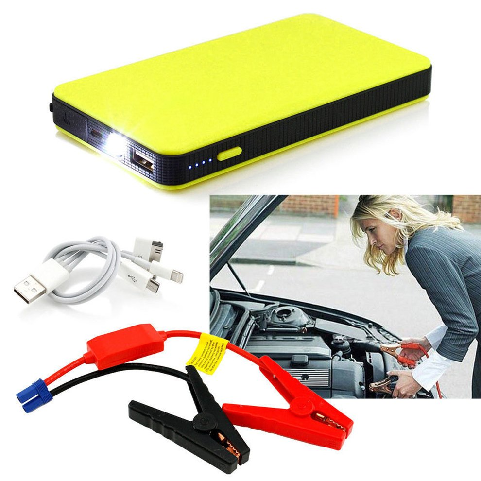 12V 20000mAh Mini Portable Multifunctional Car Jump Starter Power Booster Battery char ger Emergency Start char ger