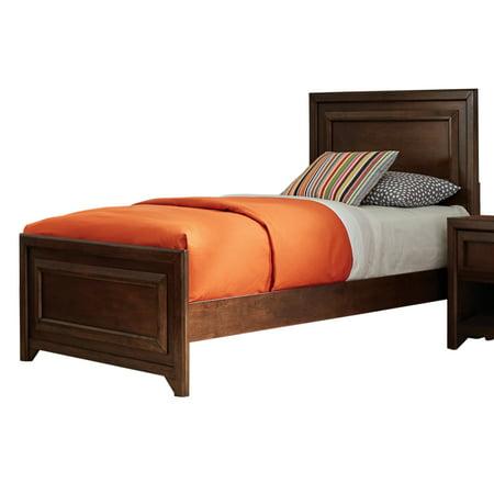 Venetian Worldwide Greenough Twin Bed Maple Oak