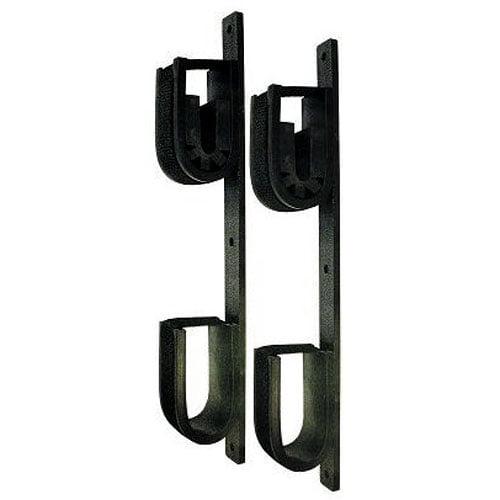 Rugged Gear Double-Hook Screw Mount Gun Rack