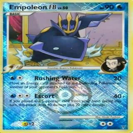 Pokemon League Promo Single Card Empoleon FB (Pokemon Promo Single Card)