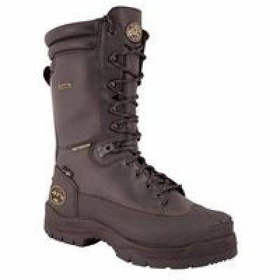 Lace Up Metatarsal Guard Mining Work Boots, Size 11, 5 In H, Black
