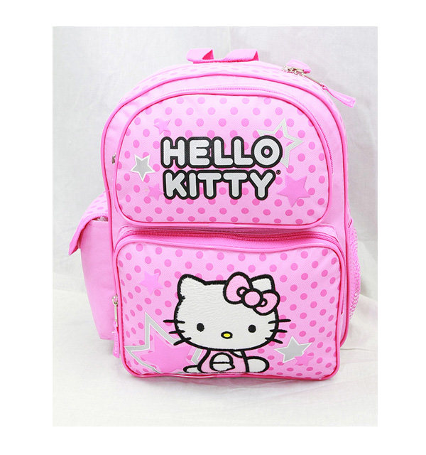 Small Backpack - Hello Kitty - Pink New School Bag Book Girls 81400