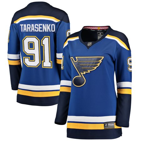 huge selection of df33e 366c7 Vladimir Tarasenko St. Louis Blues Fanatics Branded Women's Home Breakaway  Player Jersey - Royal