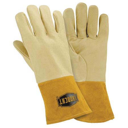 (Large Premium Grain Pigskin Mig Glove 1 Pair)