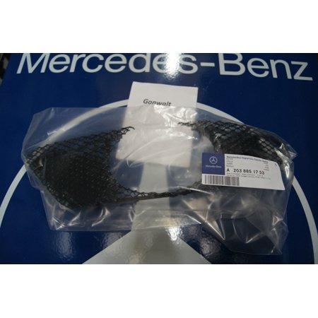 Mercedes Benz C230 C240 C320 C350 Bumper Cover Left Mesh Grille 2038851753