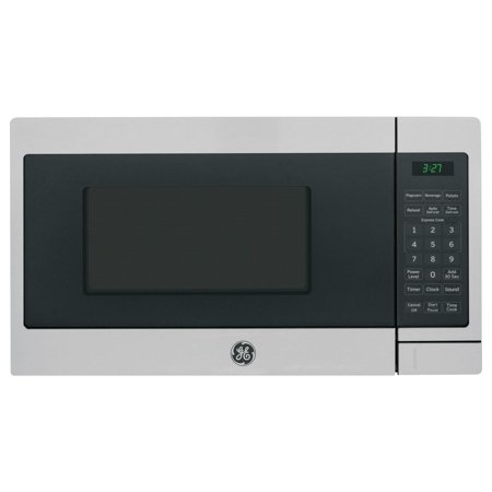 GENERAL ELECTRIC 0.7 Cu. Ft. Capacity Countertop Microwave Oven, Stainless Steel