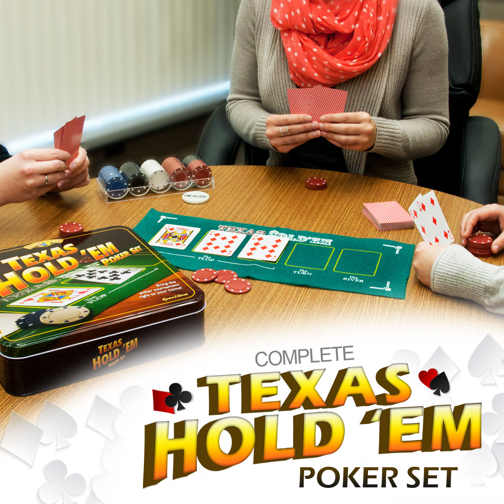 Excalibur Texas Hold 'Em Poker Set by Excalibur