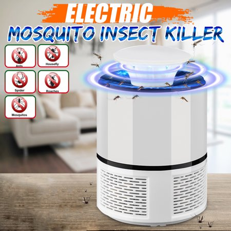 Insect Catcher (Electronic Fly Bug Zapper Mosquito Moskito Moustique Insect Killer Catcher Pest Control LED Light Trap Lamp Home Decor Outdoor Camping)