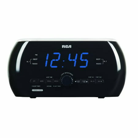 rca rc220 soft light alarm clock radio with dual wake. Black Bedroom Furniture Sets. Home Design Ideas