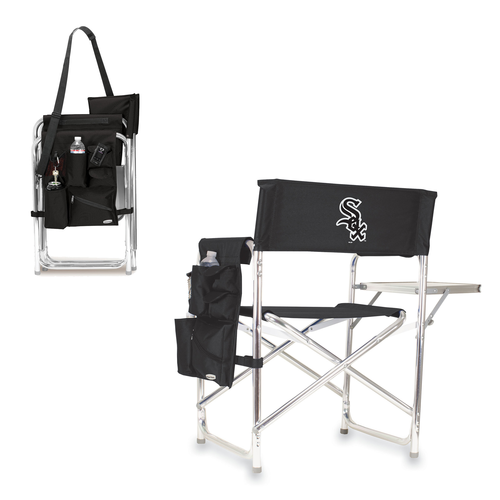 Chicago White Sox Sports Chair - Black - No Size