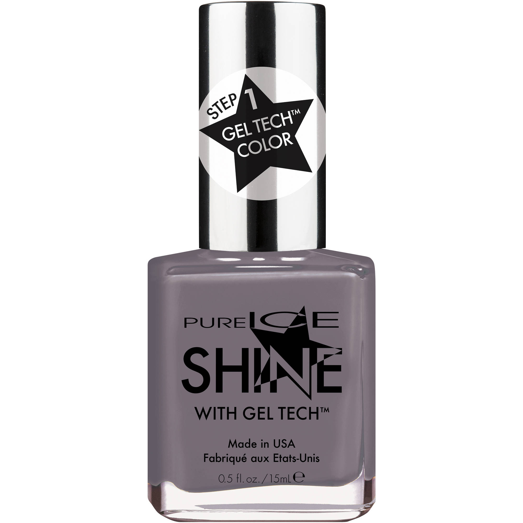 Pure Ice Shine with Gel Tech Nail Polish, Shining Knight, 0.5 fl oz