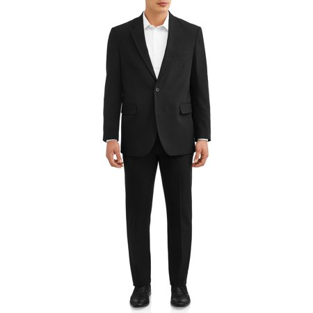 George Men's Premium Comfort Stretch Flat Front Suit Pant