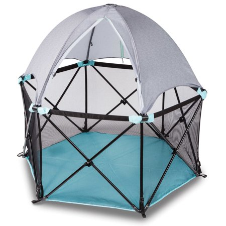 Summer Infant Pop N Play Deluxe Ultimate Playard with Full Canopy