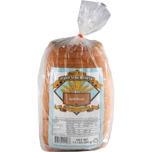 Prairie Grain Bread Co. Spelt Bread, 1.5 lb