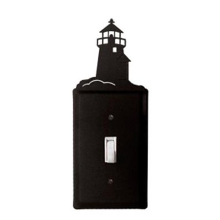 Lighthouse Light Switch Covers - Village Wrought Iron ES-10 Lighthouse - Single Switch Cover