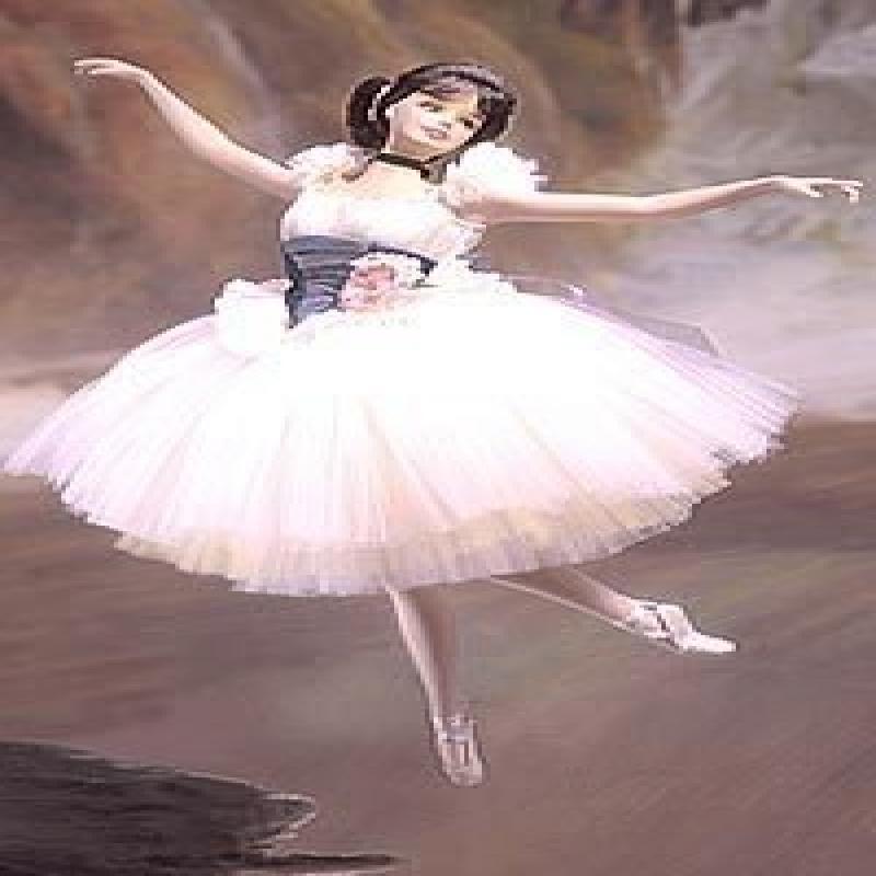 Mattel Lighter Than Air Porcelain Barbie Doll - Prima Bal...