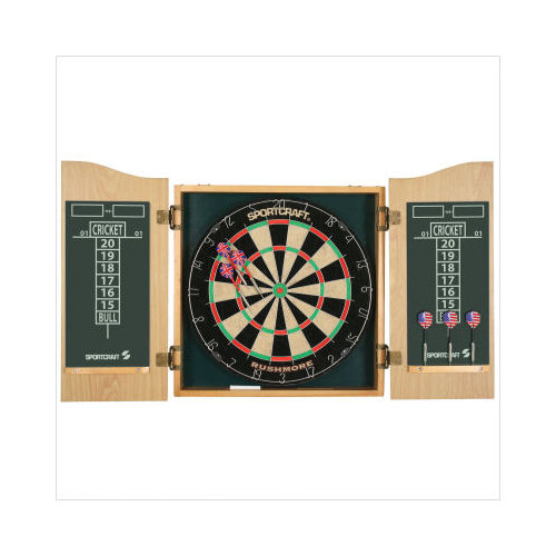 Best Of Bristle Dartboard Cabinet Set