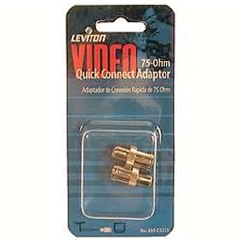 Leviton 830-C5235 Video Quick Connect Adapter