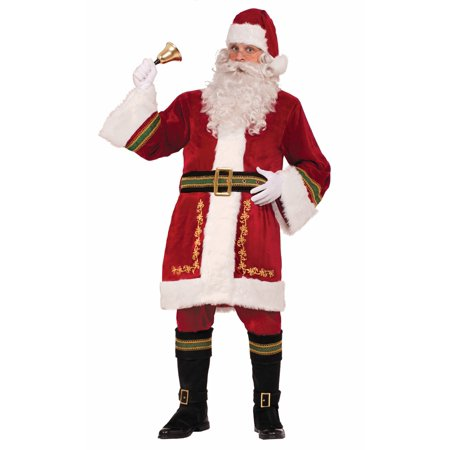 Deluxe Santa Claus Adult Black Belt Costume Accessory One Size - Mrs Santa Claus Costume