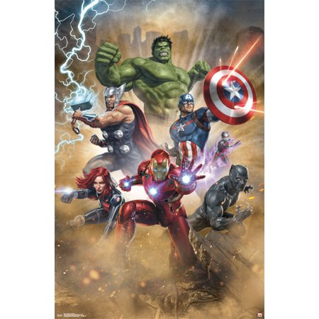 Trends International Avengers Fantastic Wall Poster 22.375