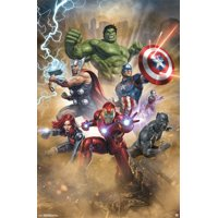 "Avengers Fantastic Wall Poster 22.375"" x 34"""