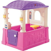 Step2 Four Seasons Pink and Purple Playhouse for Toddlers
