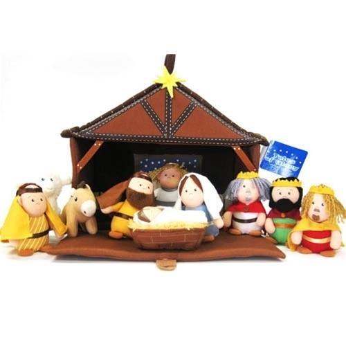 Nativity Plush 11 Piece Play Set (Other)