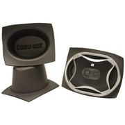 DEI 050361 5 x 7 in. Oval Slim Boom Mat Pair Speaker Baffles