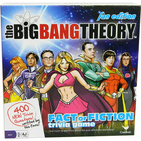Big Bang Theory Fan Edition Trivia - Halloween Trivia Game For Adults