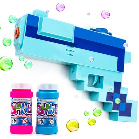 Toysery Mosaic Bubble Gun | Endless Bubble Fun | Comes with Lights and Music | Perfect for Any Occasion | Simple to Use | Hours of Entertainment for Kids | Best for Gifting