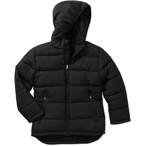 Jackets for Boys Who Love the Outdoors. Keep him comfortable and protected against the elements with boys' jackets and coats from The North Face®. During intensely cold weather, bundle him up in a hooded coat featuring ThermoBall™ technology.