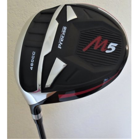 Left Hand Mens M5 460cc Golf Driver Super Long Hitting and Accurate Ti Regular Flex Graphite 10 Degree Golf Club LH Max Distance