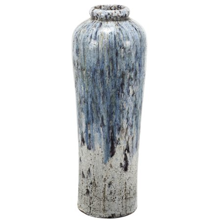 A&B Home Terracotta Vase Tall, 9 by 27.5-Inch