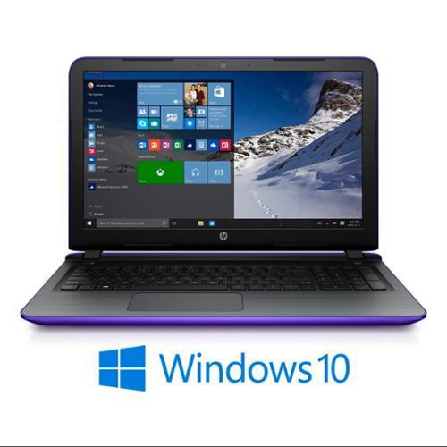 "Refurbished HP Pavilion 17-g134ds AMD A4, 8GB, 17.3"" HD+ LED, Win 10 Laptop (Purple)"