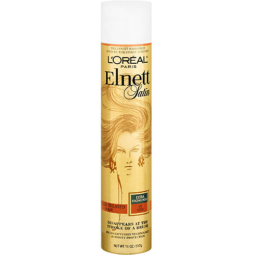 L'Oreal Paris Elnett Strong Hold with UV Filter Hairspray, 11 oz