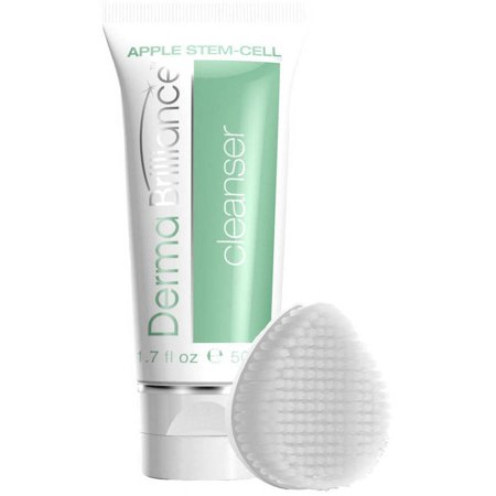 Humongousmallbeauty and cosmetics dermabrilliance apple stem cell cleanser brush head set 2 pc sciox Choice Image
