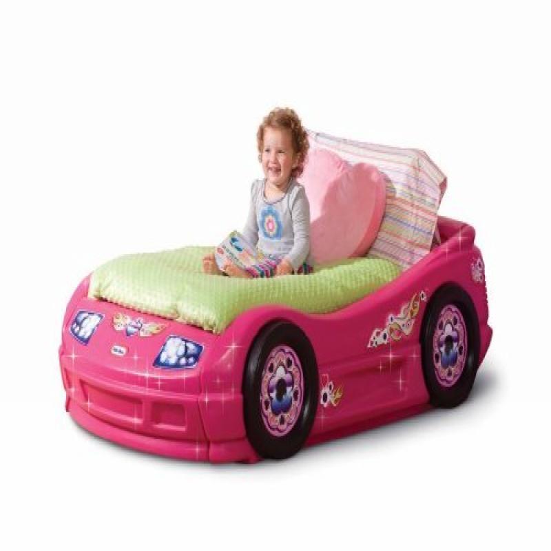 Princess Pink Toddler Roadster Bed - Walmart.com