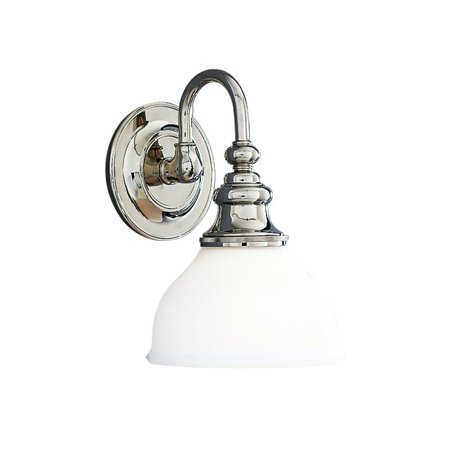 Hudson Valley Lighting 5901 Sutton Single Light 10 Tall Bathroom Sconce
