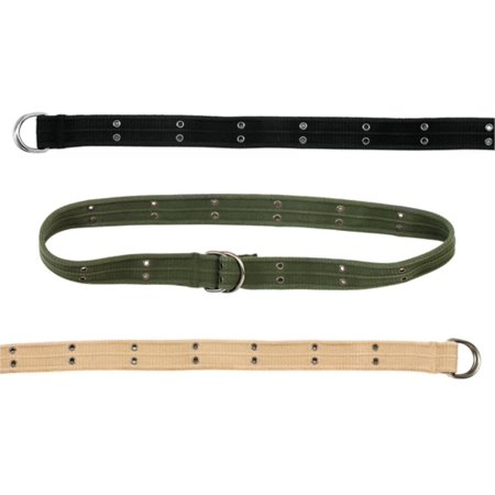 Vintage D-ring Belt in various colors and sizes ()