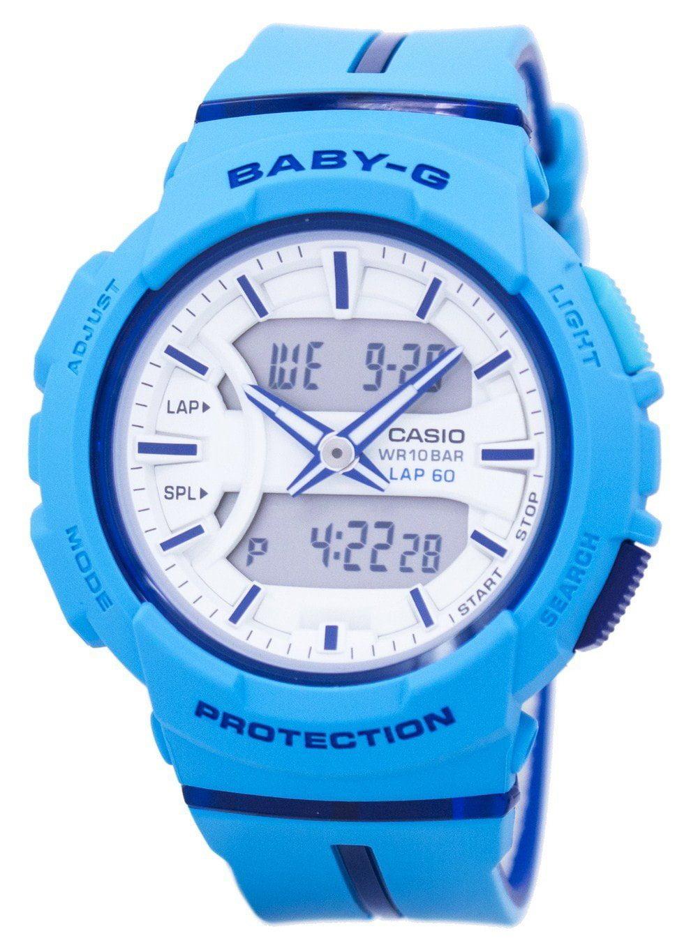 Casio Baby-G Shock Resistant Dual Time Analog Digital BGA-240L-2A2 Womens Watch