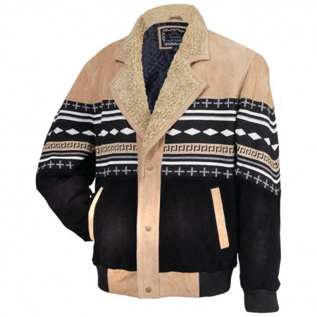 Solid Genuine Suede Leather Jacket
