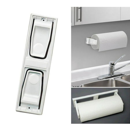 AllTopBargains Paper Towel Roll Holder Dispenser Wall Mount Cabinet Kitchen Houseware Plastic ! - Halloween Crafts With Paper Towel Roll
