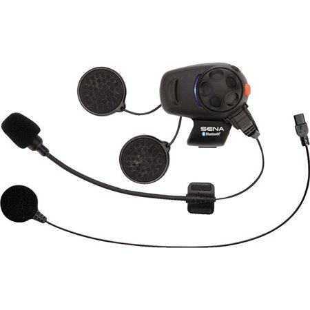 Sena SMH5 Bluetooth Headset Single Pack with Wired and Boom Microphone